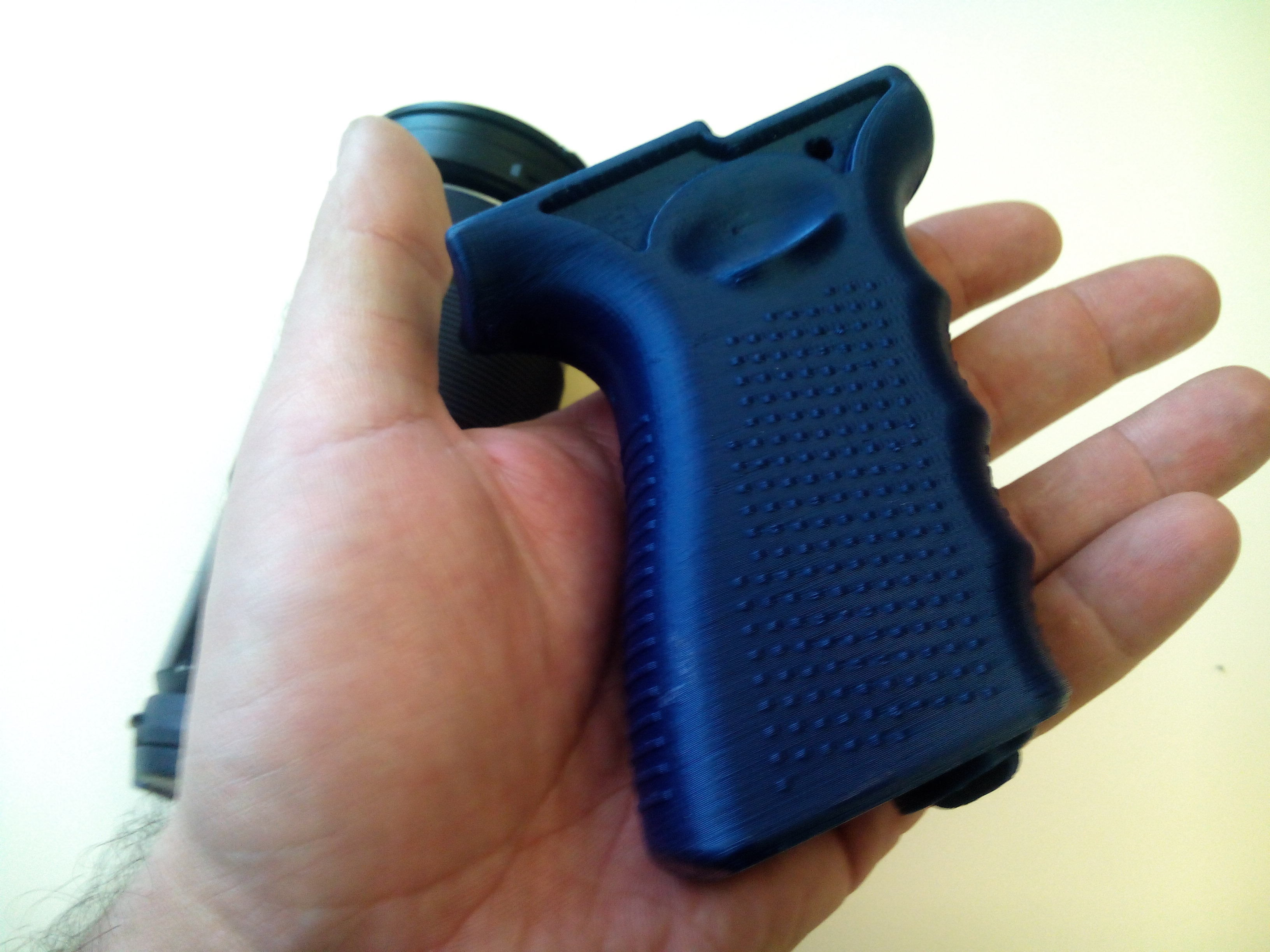 Grip for Olympus Air A01 and Sony AS15 and AS20 action cams