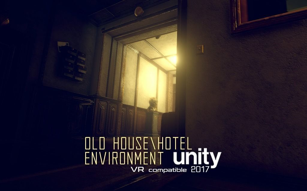 Old House or Hotel Unity Pack