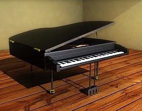 Grand Piano 3D model instruments