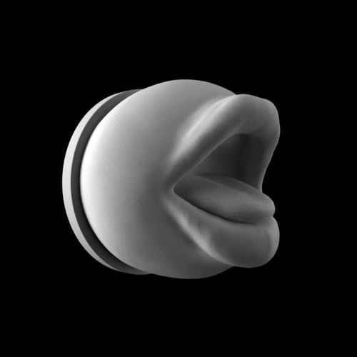 mouth with pedestal 3d model stl 1