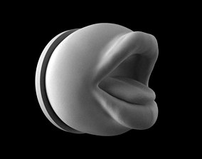 Mouth with pedestal 3D print model