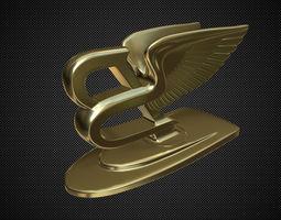 3D bentley hood ornament