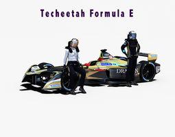 Techeetah 2017 2018 3D model