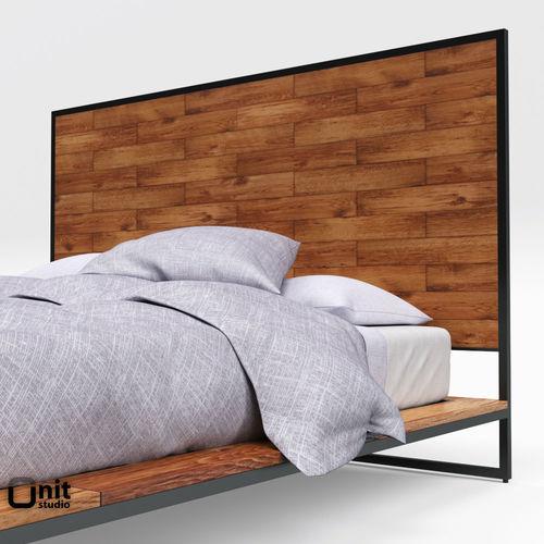 ... Logan Industrial Bedroom Collection By West Elm 3d Model Max Obj 3ds  Fbx Dwg 5 ...