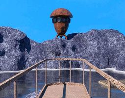 3D model A mysterious place obj