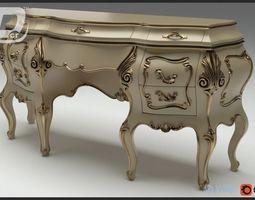 Ailive Powder Room Table 3D model