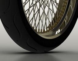 3D model Motorbike Wheel