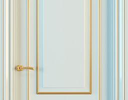 Union Grand GR03 door with panels 3D model
