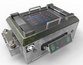 3D weapon case fingerprint