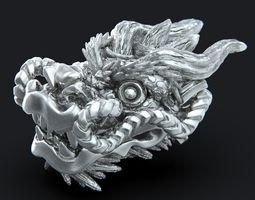 souvenir 3D printable model Dragon head