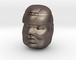 Olmeca Head 3D printable model