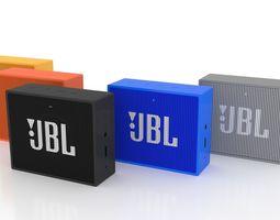 3D asset JBL GO Portable Speaker