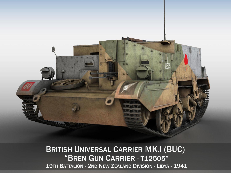Bren Gun Carrier MK I - BUC - T12505