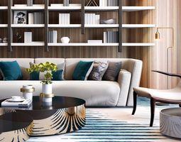 modern sofa desinger 3D model