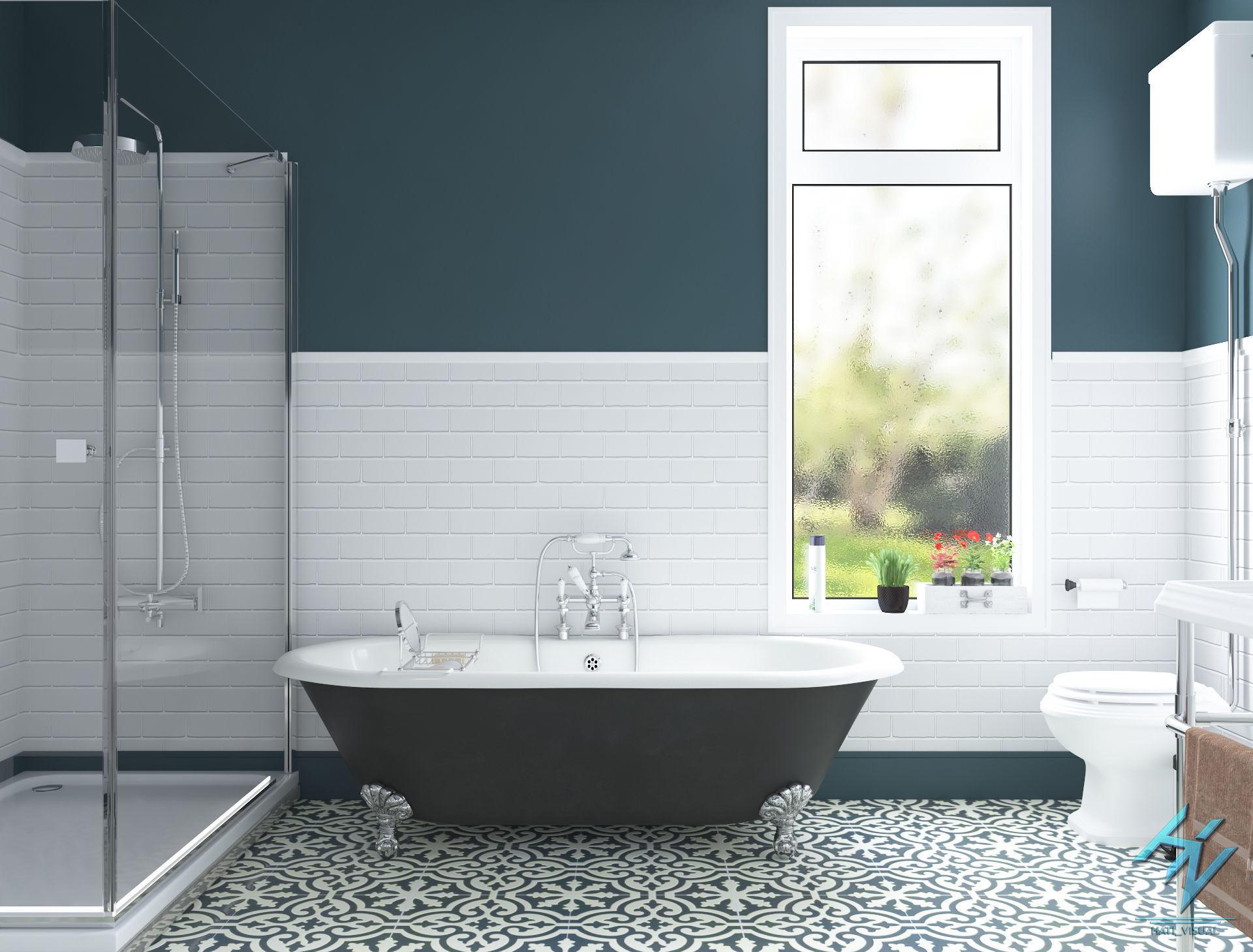 sink toilet Bathroom 3D model | CGTrader