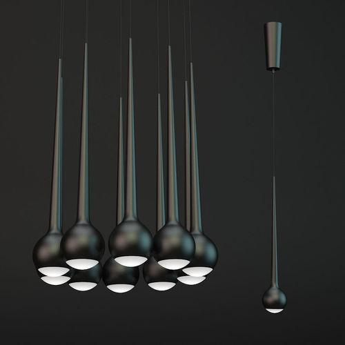 Tobias grau falling black set 10   3D model
