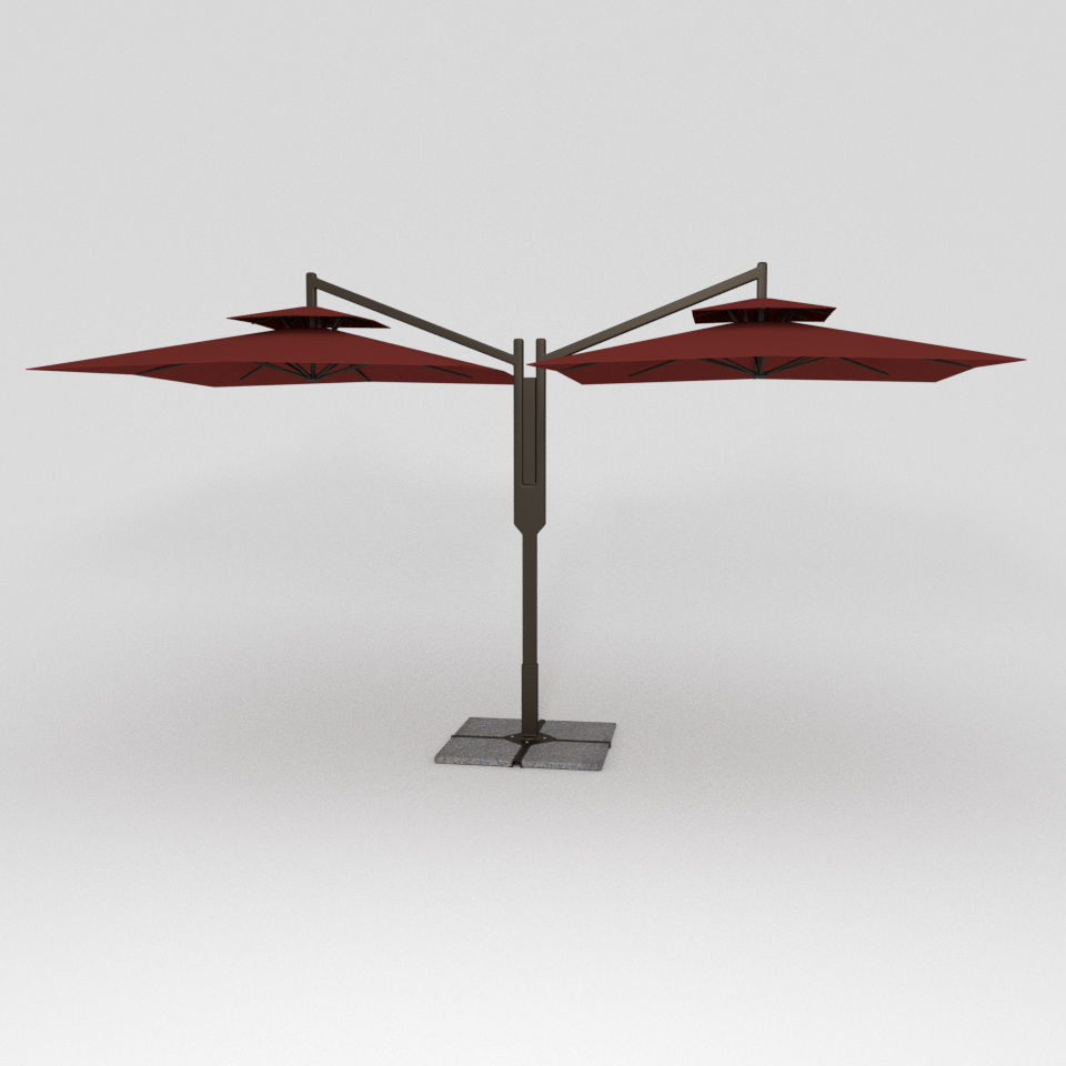 Double Patio Umbrella