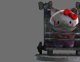 Hello Hannibal Kitty Diorama 3D print model toys