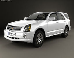2004 3D Cadillac SRX 2005