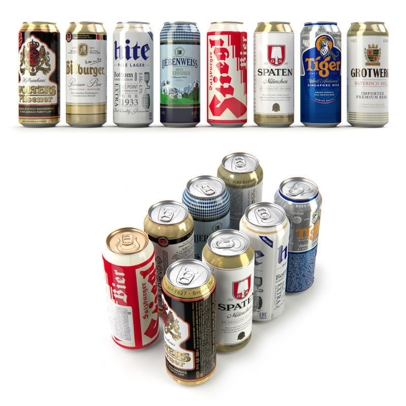 Beer in aluminum cans Vol 1