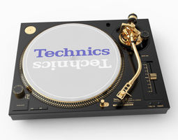 Technics SL1210M5G 3D