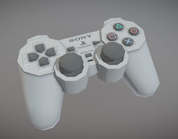 PlayStation Analog Controller 3D model