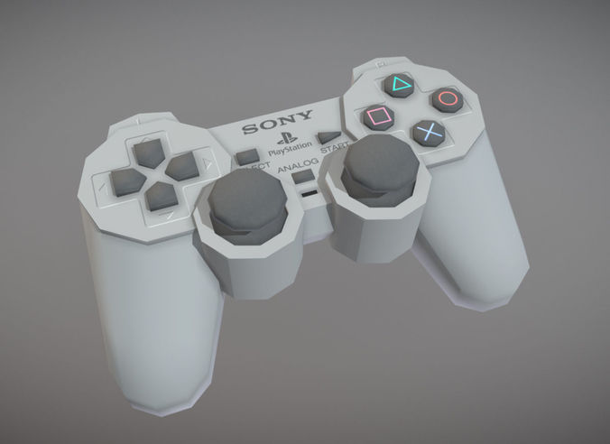 PlayStation Analog Controller | 3D model