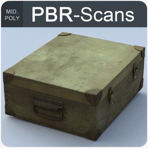 trunk middle poly 3d model obj mtl fbx ma mb 1