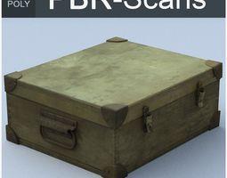 trunk high poly 3d PBR