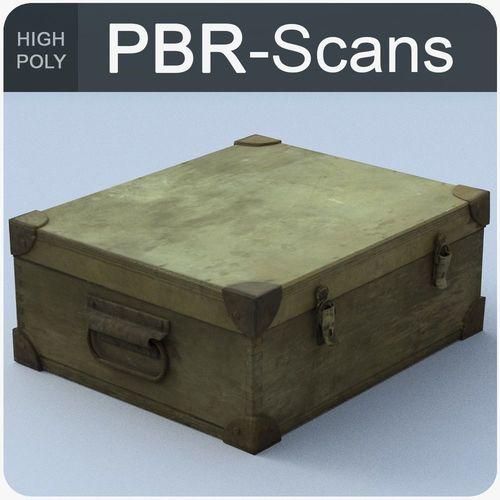 trunk high poly 3d model obj fbx ma mb 1