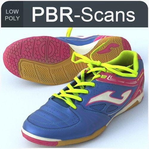 sneaker low poly 3d model low-poly obj mtl fbx ma mb 1