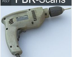 3D model Drill High Poly