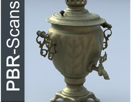 Samovar High Poly 3D model