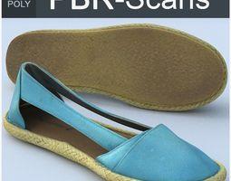 3D model PBR Shoe Middle Poly