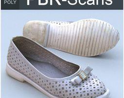 3D asset Shoe Low Poly