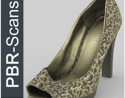 3D model High Heel High Poly