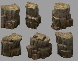 Snow White - Cliffs 03 3D model