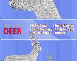 3D model Deer Base Mash