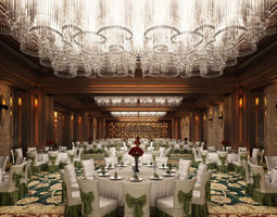 3D CB Hotel Assembly Room