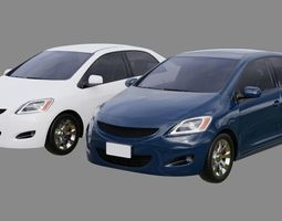 Generic Car 1A 3D asset