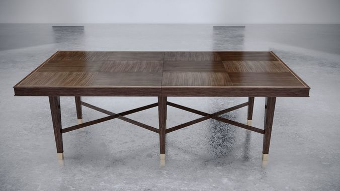 Baker Furniture Larchmont Dining Table Model