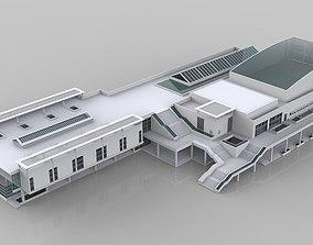 interior 3D model VR / AR ready Building