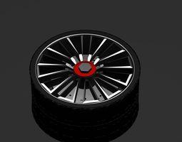 rims car 3D