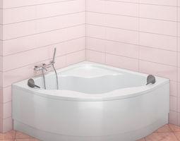 bath Ravak Gentiana 3D model