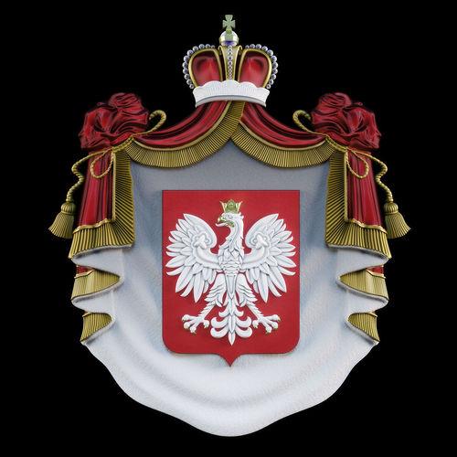 coat of arms 3d model max obj mtl fbx stl 1