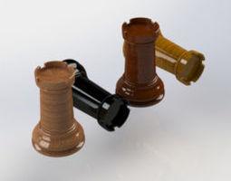 3D print model Chess Rook