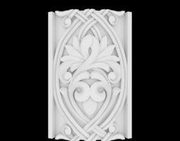 decor 3D printable model Decorative panel
