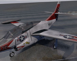 3D model North American T-2C Buckeye