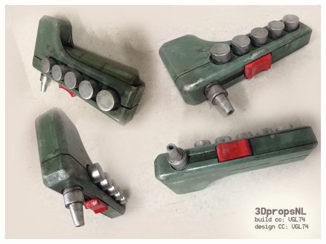 sabines paintgun 3d model stl 1