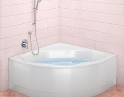 3D lavatory bath Ravak NewDay